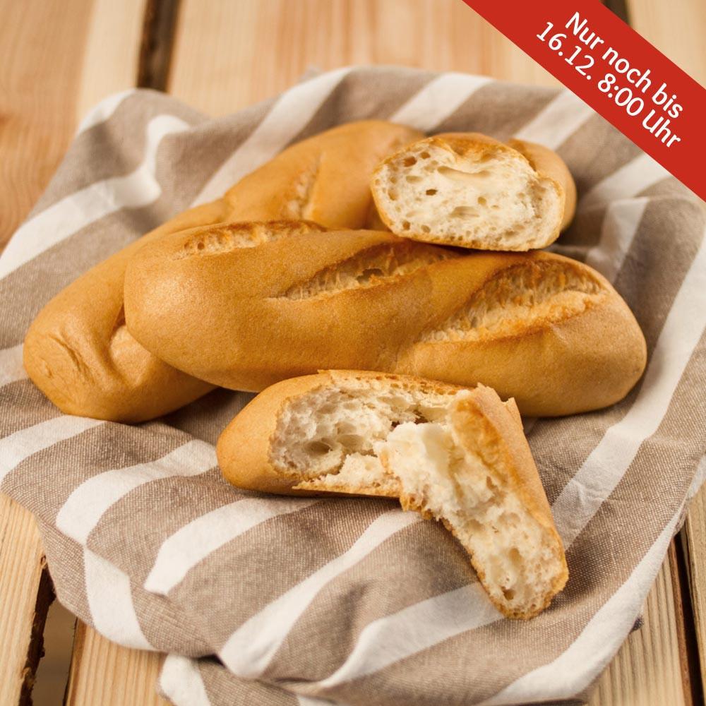 Mini-Baguette, glutenfrei (3 Stk.)