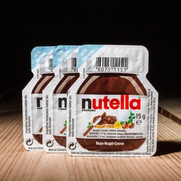 Nutella Portionen