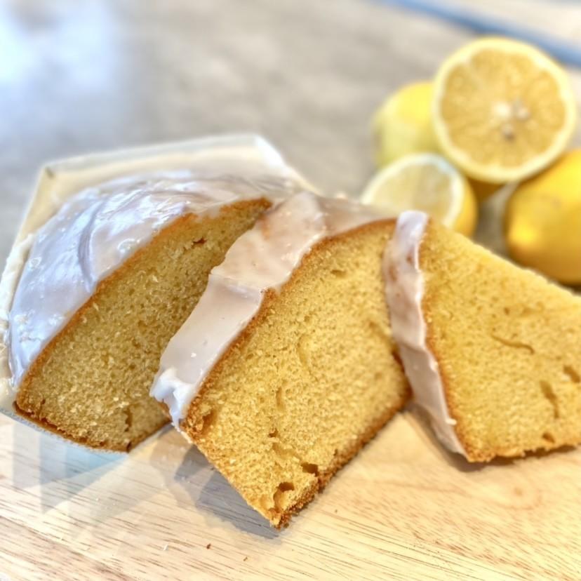 Oma's Rührkuchen mit Zitronenglasur, 400g